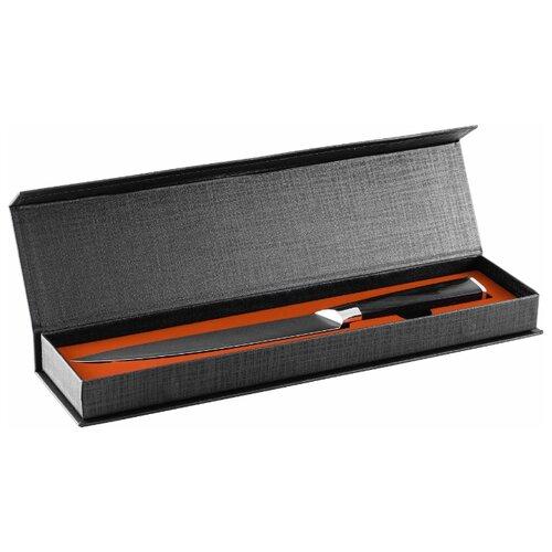 gipfel нож разделочный colombo 20 см коричневый GIPFEL Нож разделочный Lamili 20 см черный