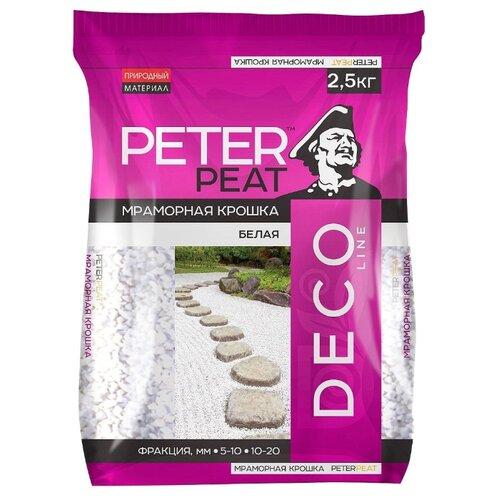 Фото - Мраморная крошка Peter Peat Deco Line фракция 10-20 мм 2.5 кг светло-серый f david peat acción suave