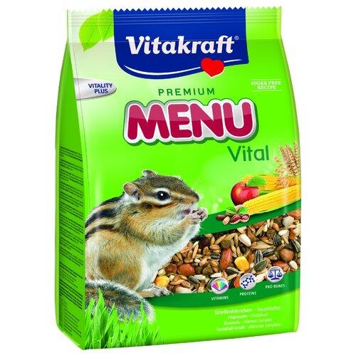 Корм для белок и бурундуков Vitakraft Premium Menu Vital 600 г vitakraft vitakraft menu корм для крыс 400 г