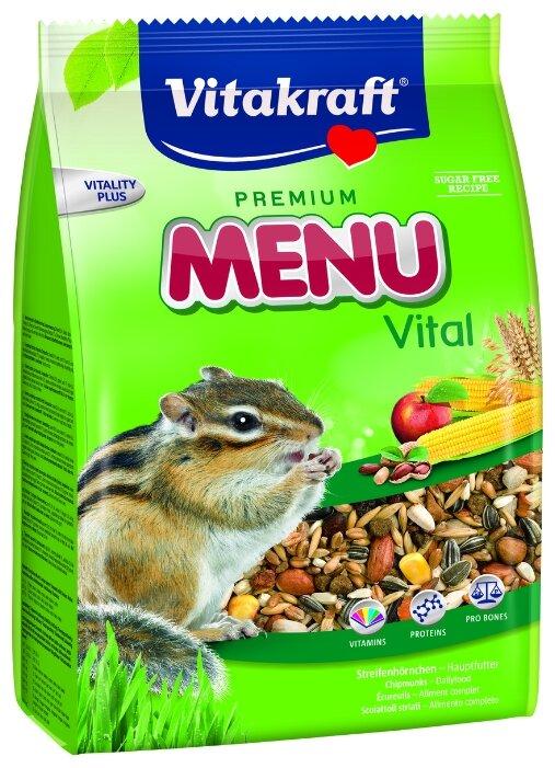 Корм для белок и бурундуков Vitakraft Premium Menu Vital