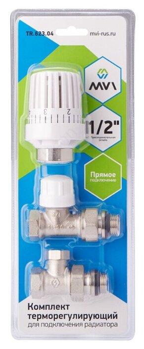 Термоголовка, термостатический клапан для радиатора MVI TR.623.04 — купить по выгодной цене на Яндекс.Маркете