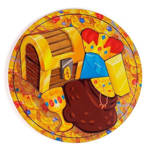 Рамка-вкладыш PAREMO Сокровища (PE720-08), 6 дет. оранжевый