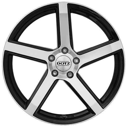 Колесный диск Dotz CP5 7x17/5x100 D60.1 ET45 dark