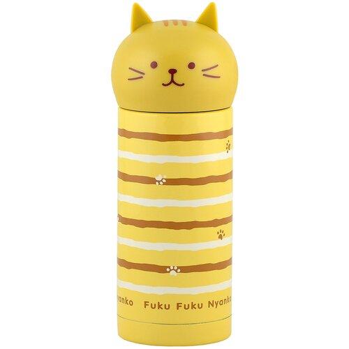 Классический термос Fissman 9690, 0.25 л желтый
