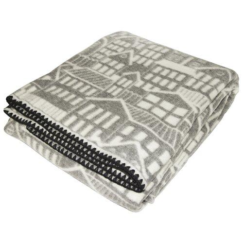 Одеяло ARLONI Мой Город, всесезонное, 140 х 205 см (серый) одеяло полутораспальное альвитек кукуруза 140 205 см