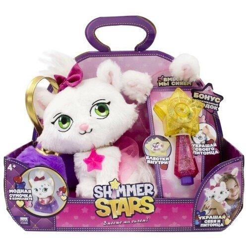 Мягкая игрушка Shimmer Stars котенок Джелли Бин с сумочкой 20 см