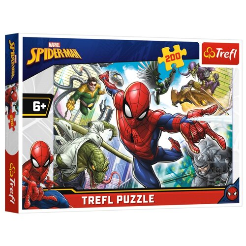 Купить Пазл Trefl Spider-Man (13235), 200 дет., Пазлы