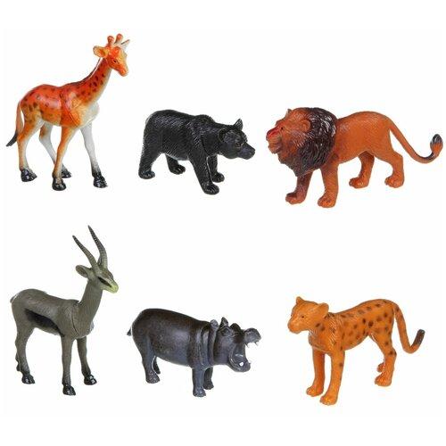 Фото - Фигурки BONDIBON Ребятам о зверятах - Дикие животные ВВ1609 фигурки bondibon ребятам о зверятах домашние животные вв1637