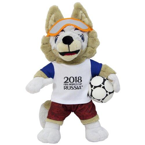Мягкая игрушка 1 TOY FIFA-2018 Волк Забивака 28 см брелок 2018 fifa world cup russia забивака сн004 белый красный