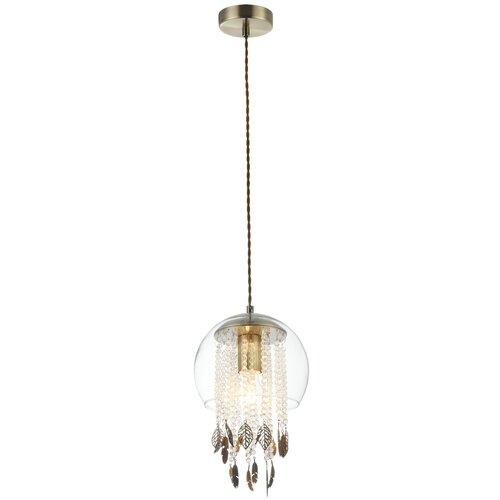 Потолочный светильник MAYTONI Equorin MOD197-PL-01-G, 60 Вт светильник maytoni bicones p359 pl 220 c e27 60 вт