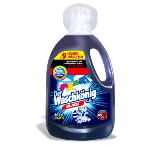 Гель Der Waschkonig Black, 3.31 л, бутылка