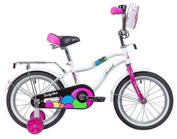 Детский велосипед Novatrack Candy 16 (2019)