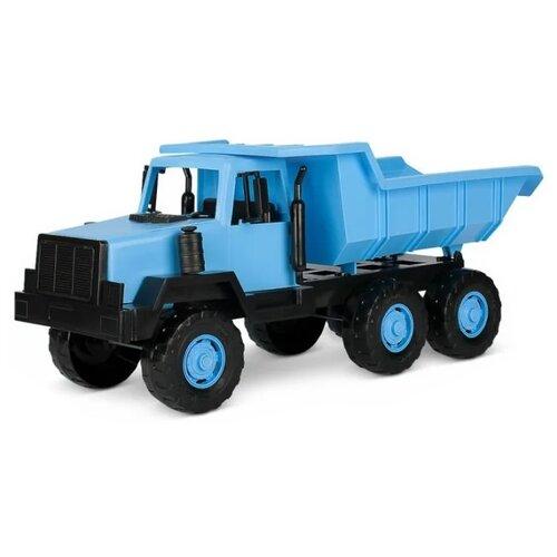 Купить Грузовик Росигрушка Сибиряк самосвал (9288) 47 см синий, Машинки и техника