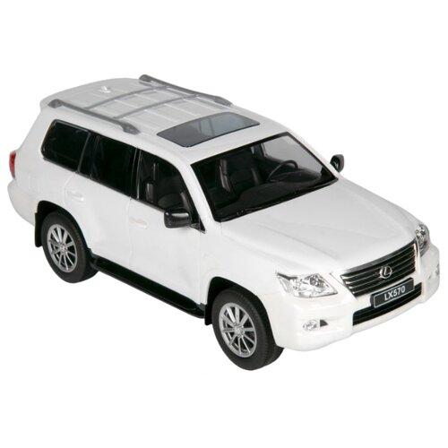 Купить Внедорожник Barty Lexus LX570 (Z03) 1:14 36 см белый, Радиоуправляемые игрушки
