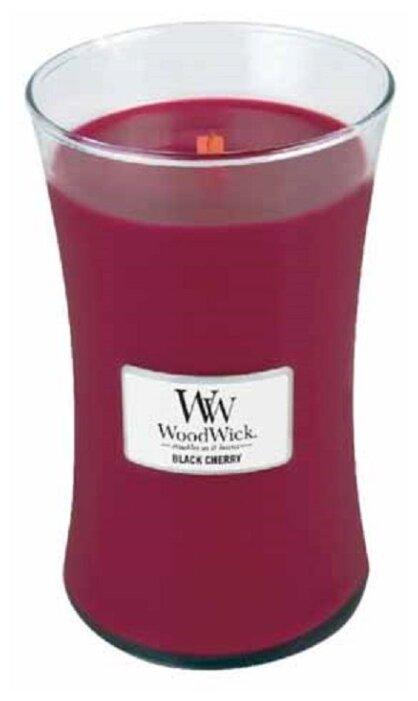 Свеча WoodWick Black Cherry (93100), большая