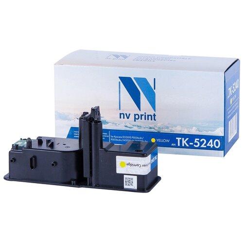 Фото - Картридж NV Print TK-5240 Yellow для Kyocera, совместимый картридж nv print tk 895 yellow для kyocera совместимый