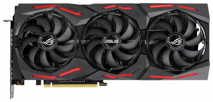 Видеокарта ASUS GeForce RTX 2080 SUPER 1650MHz PCI-E 3.0 8192MB 15500MHz 256 bit 2xHDMI HDCP Strix Gaming OC