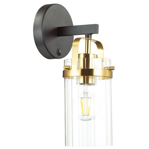 Бра Odeon light Kovis 4653/1W, с выключателем, 60 Вт бра odeon light flexi white 3628 1w