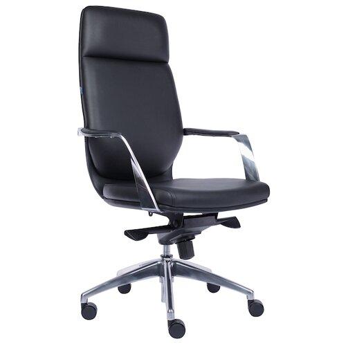 Компьютерное кресло Everprof Paris для руководителя, обивка: искусственная кожа, цвет: черный