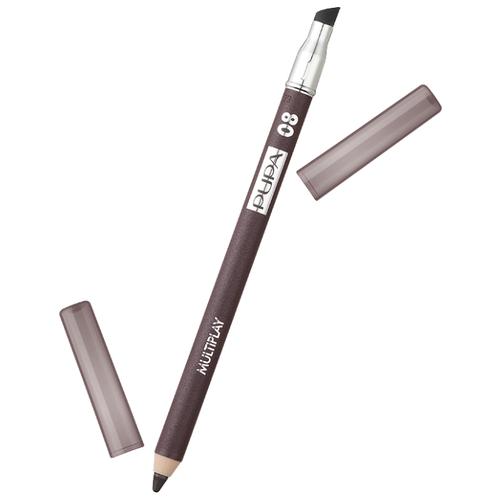 Pupa Карандаш для век с аппликатором Multiplay Eye Pencil, оттенок 08 basic brun