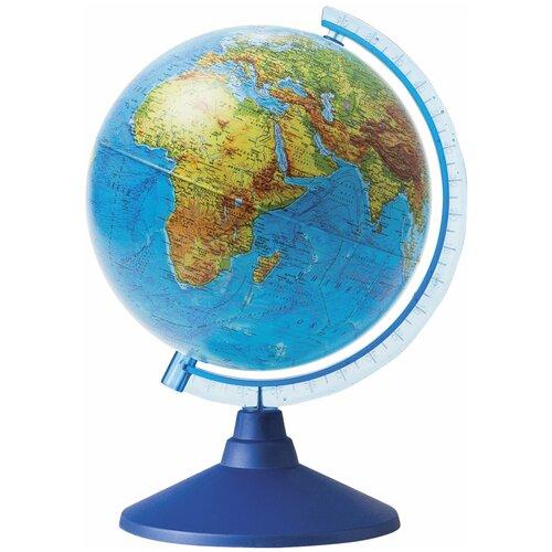 Фото - Глобус физический Globen Классик Евро 150 мм (Ке011500196) синий globen глобус земли globen физический с подсветкой 150 мм