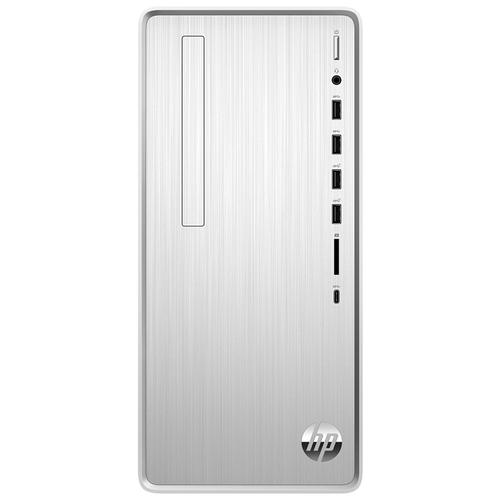 Фото - Настольный компьютер HP Pavilion TP01-1000ur (14R13EA) Mini-Tower/Intel Core i3-10100/8 ГБ/1 ТБ HDD/NVIDIA GeForce GTX 1650/DOS серебристый пк hp pavilion tp01 1004ur 14r17ea natural silver