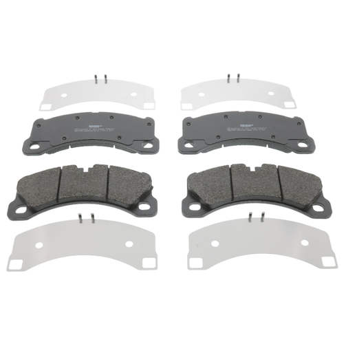 Дисковые тормозные колодки передние Ferodo FDB4717 для Porsche Panamera, Porsche Cayenne, Porsche Macan (4 шт.) тормозные колодки дисковые kotl 1546kt