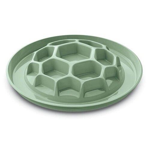 Миска интерактивная HONEY-SLOW FOOD, зеленый