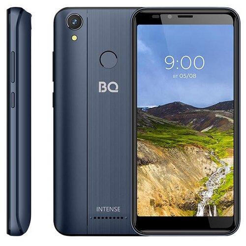 Смартфон BQ 5530L Intense синий смартфон