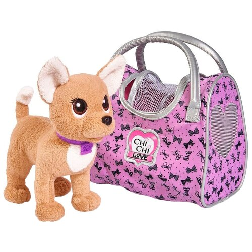 Мягкая игрушка Simba Chi-chi love Собачка путешественница 20 см