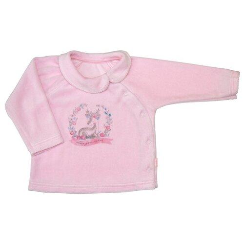 Распашонка СовёнокЯ размер 40-62, розовый распашонка для девочки lucky child цветочки цвет светло розовый 11 7 размер 62 68 2 3 месяца