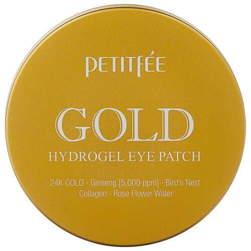 Petitfee Гидрогелевые патчи для век Gold Hydrogel Eye Patch (60 шт.) hydrogel eye patch gold mosmake