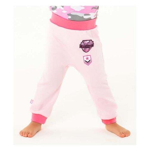 Брюки KotMarKot Папина дочка 5080224 размер 86, розовый