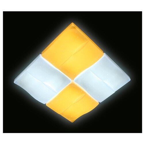Светильник светодиодный Ambrella light FP2382 WH 128W D500 ORBITAL, LED, 96 Вт светильник светодиодный ambrella light f130 wh gd 72w d500 orbital led 72 вт