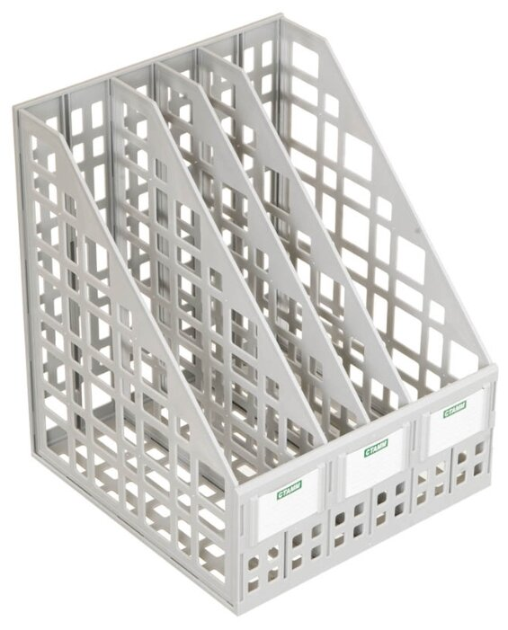 Лоток вертикальный для бумаги СТАММ сборный (4 отд.)