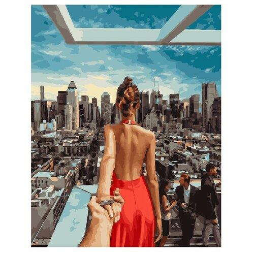 Купить ВанГогВоМне Картина по номерам Следуй за мной. Манхэттен. , 40х50 см (ZX 20415), Картины по номерам и контурам