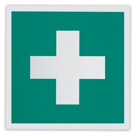 Наклейка Фолиант Аптечка первой медицинской помощи ЕС01_ф