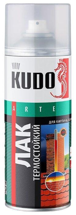Лак KUDO термостойкий глянцевый