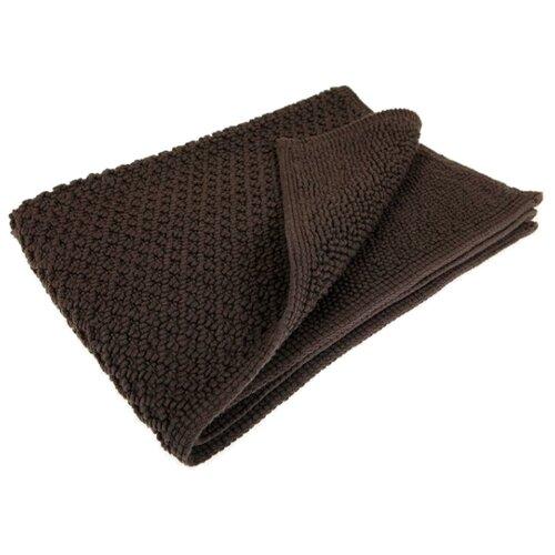 Декоративный коврик Luxberry КОКО, размер: 0.75х0.55 м, шоколадный