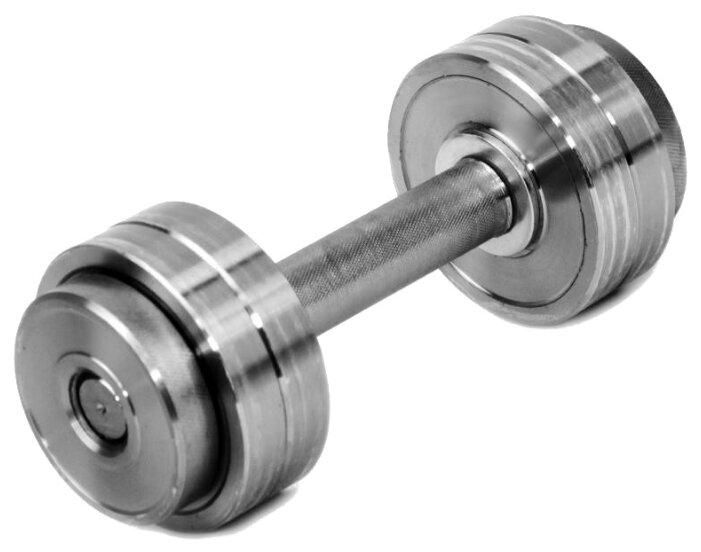 Купить Гантель разборная Атлант-Спорт металлическая 6 кг по низкой цене с доставкой из Яндекс.Маркета (бывший Беру)