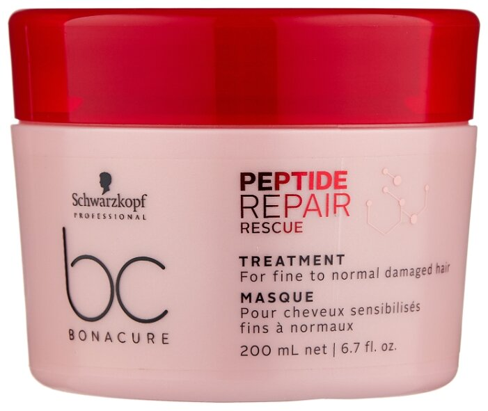 BC Bonacure Peptide Repair Rescue Маска для поврежденных волос