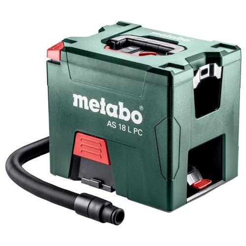 Профессиональный пылесос Metabo AS 18 L PC без аккумулятора (602021850) зеленый