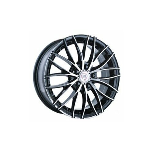 Фото - Колесный диск NZ Wheels F-28 6x15/4x100 D54.1 ET46 BKF колесный диск replica b195