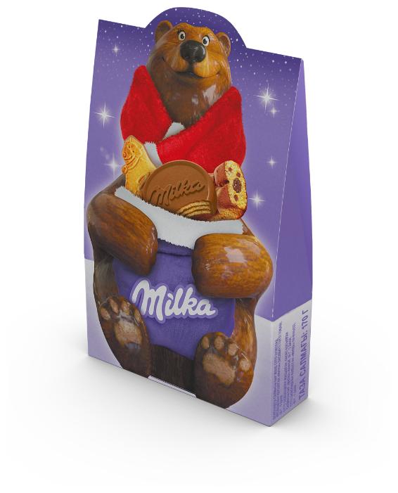 Подарочный набор Milka новогодний 170 г