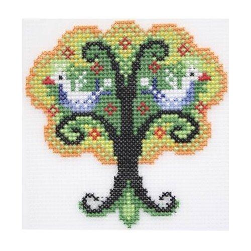 Купить Набор для вышивания на пластиковой канве крестом Чудо-дерево , арт. П-0025, Hobby & Pro, Наборы для вышивания