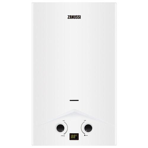 Проточный газовый водонагреватель Zanussi GWH 10 Rivo, белый