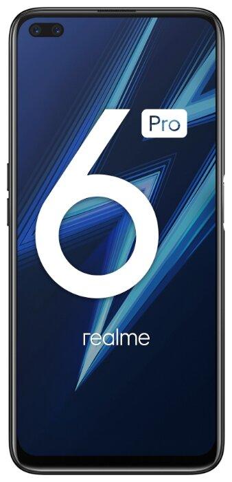 Купить Смартфон realme 6 Pro 8/128GB синяя молния (5973216) по низкой цене с доставкой из Яндекс.Маркета (бывший Беру)