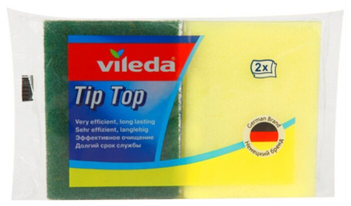 Губка для посуды Vileda Tip-Top 2 шт