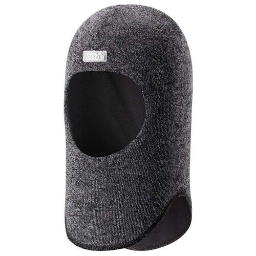 Шапка-шлем Lassie размер 50, 9991 черный шапка для девочки lassie цвет розовый 7287185161 размер 50 52