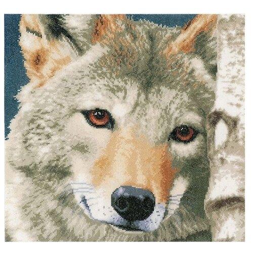 Купить Lanarte Набор для вышивания Волк 35 х 35 см (0166758-PN), Наборы для вышивания